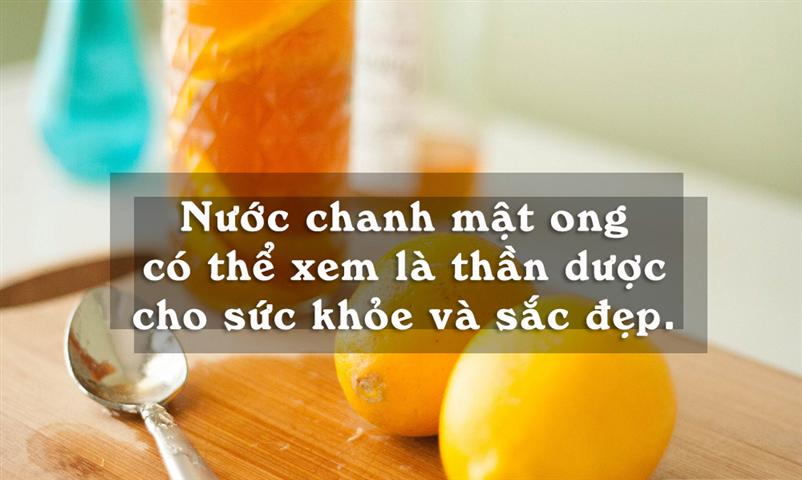 chanh mật ong